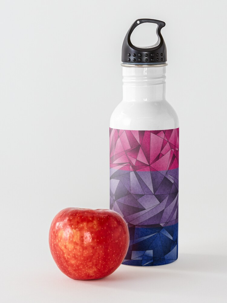 Alternate view of Abstract Bisexual Flag Water Bottle