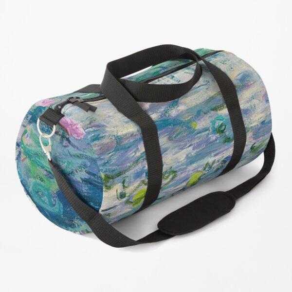 Water Lilies Claude Monet Fine Art Duffle Bag