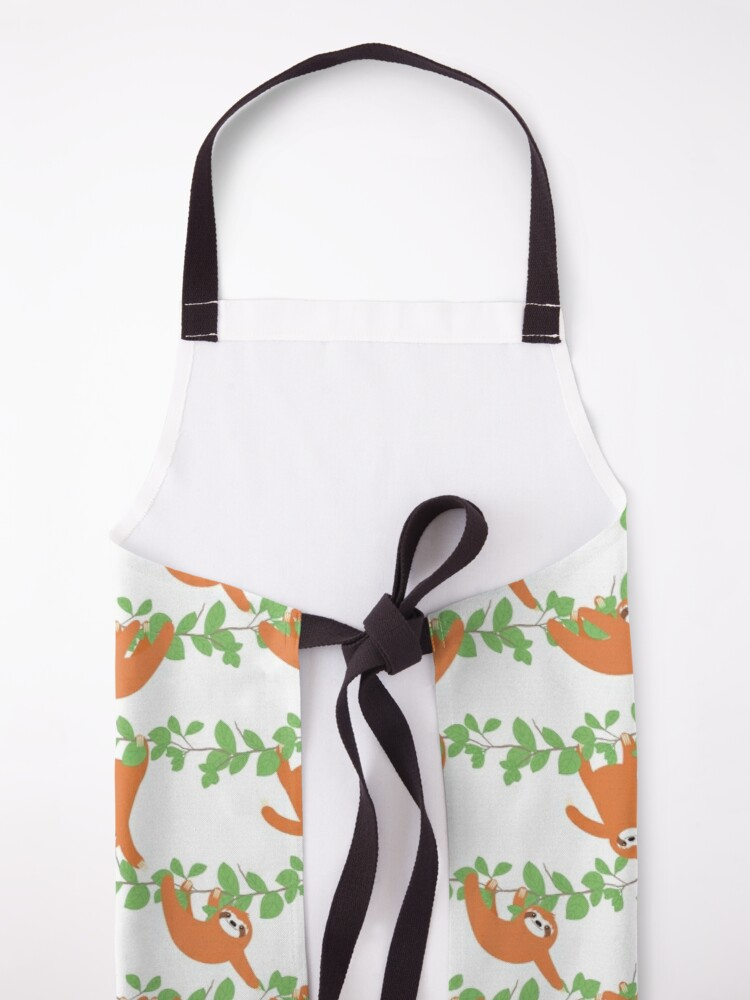 Alternate view of Tropical Rainforest Sloth Apron