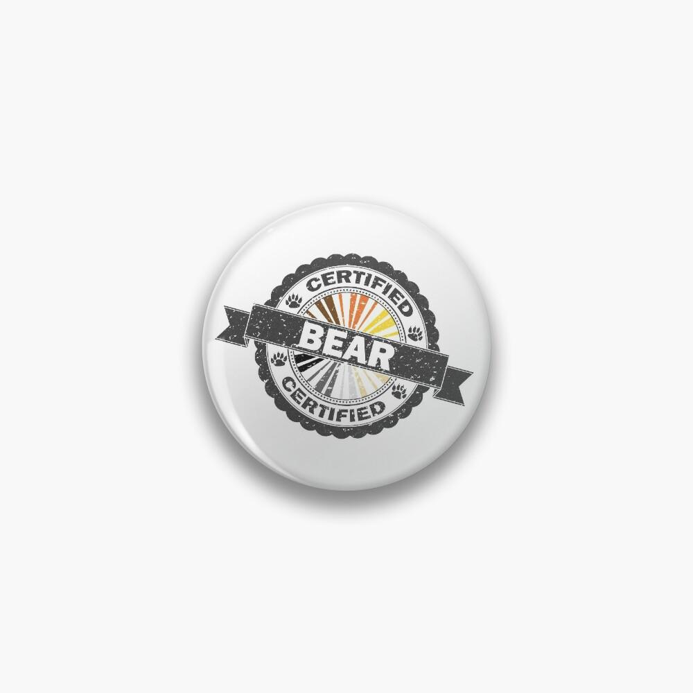 Certified Bear Stamp Pin