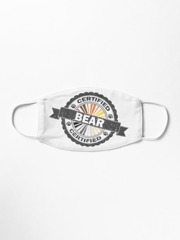 Alternate view of Certified Bear Stamp Mask