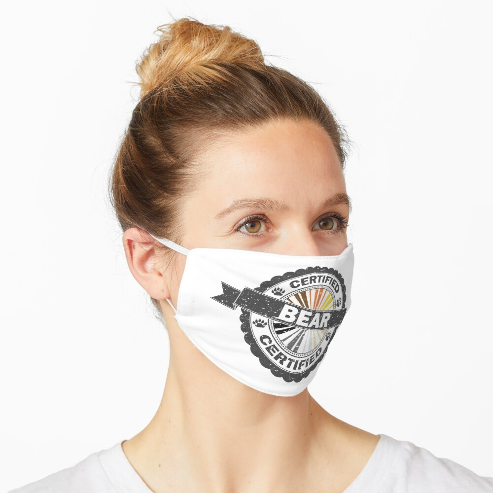 Certified Bear Stamp Mask