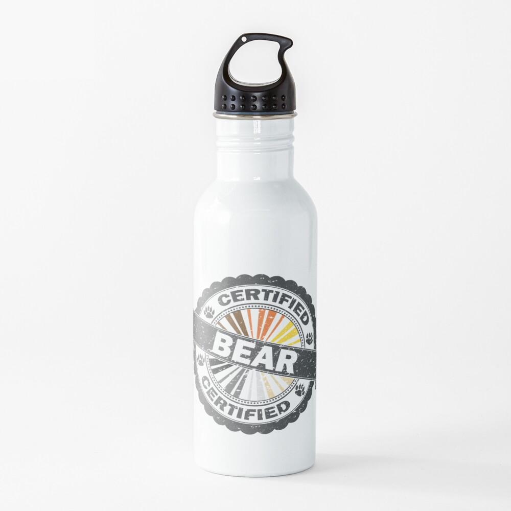 Certified Bear Stamp Water Bottle