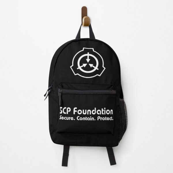 SCP Secure. Contain. Protect (Black) Backpack