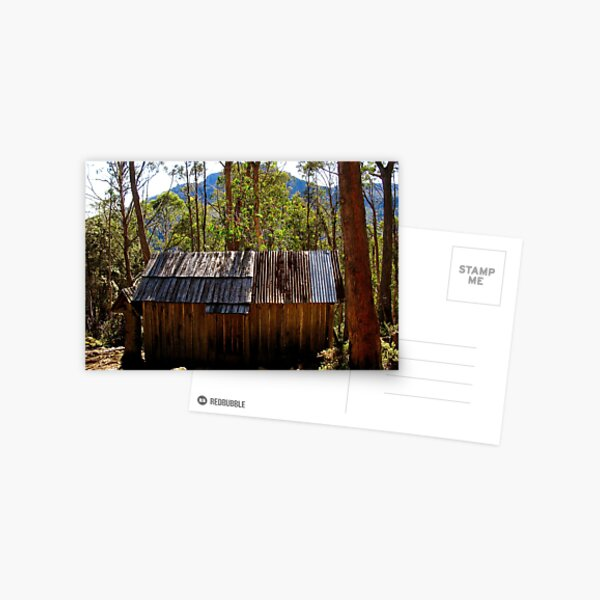 Trappers Hut - Walls of Jerusalem National Park Postcard