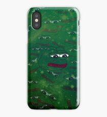 Galaxy Rare Pepe iPhone Case