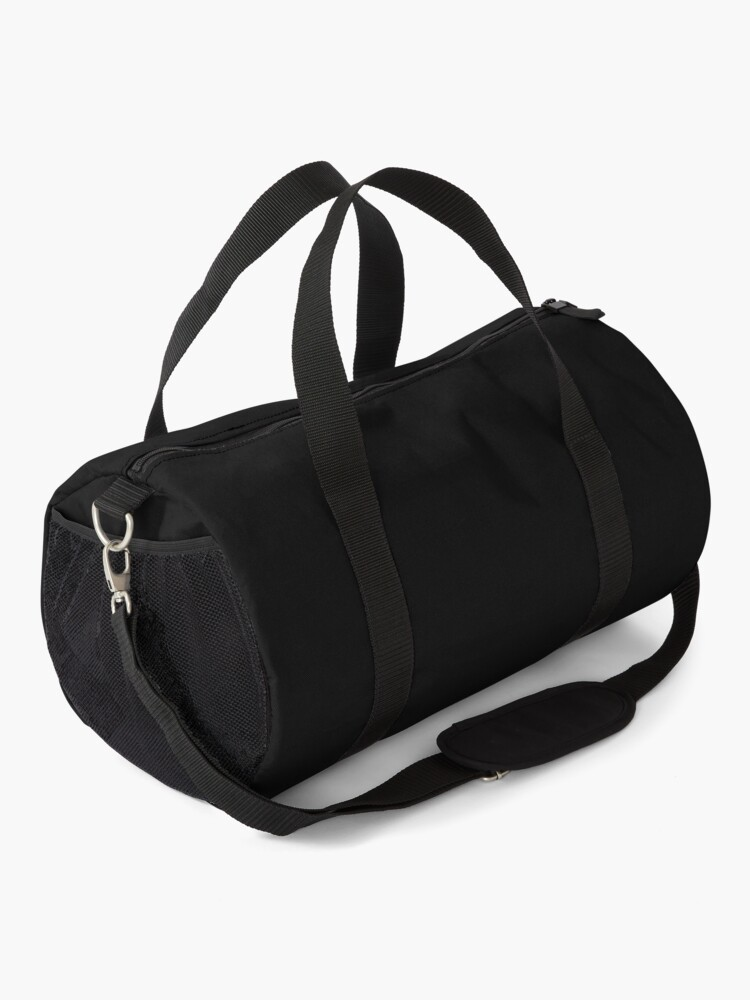 Alternate view of Workout - Black Leggings and Fitness Clothing Duffle Bag