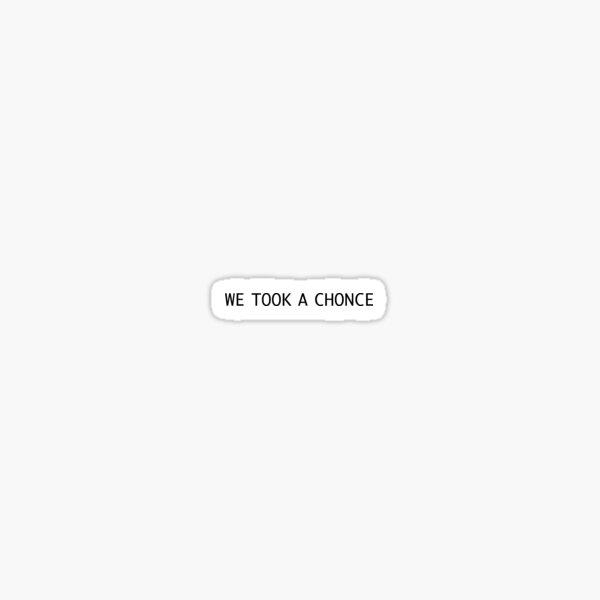 chonce Sticker