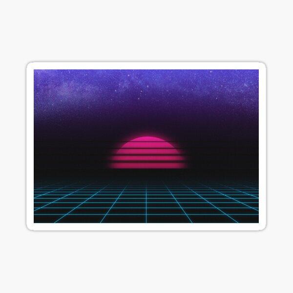 Vector Skies Background Sticker