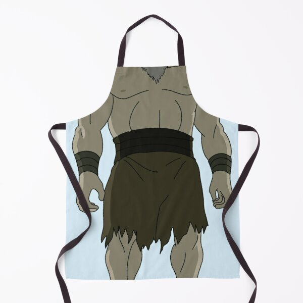 buff uncle iroh from avatar Apron