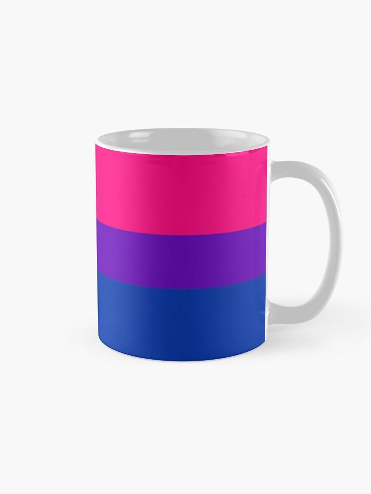 Alternate view of Solid Bisexual Pride Flag Mug