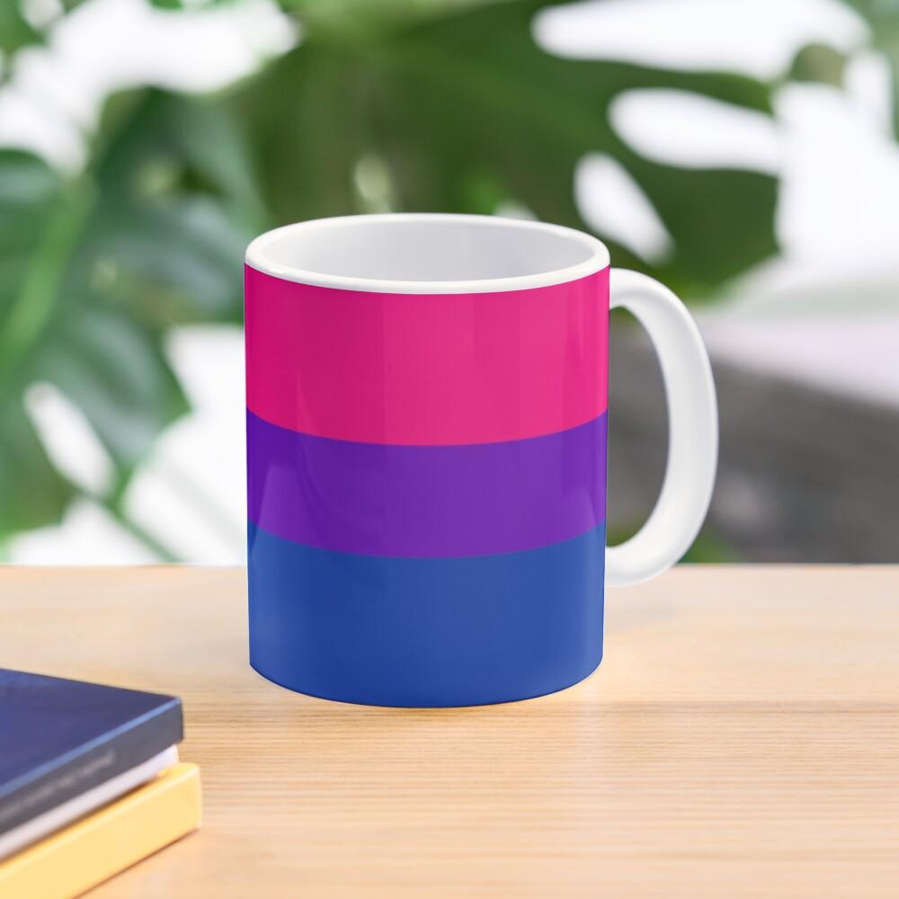 Solid Bisexual Pride Flag Mug