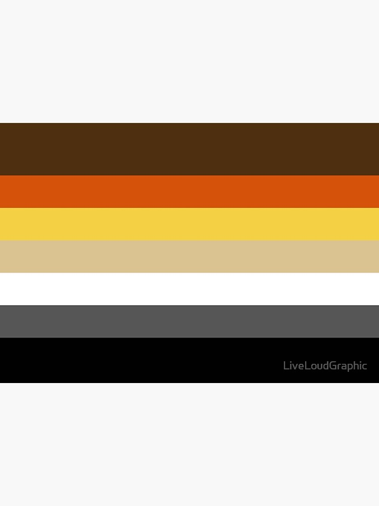 Solid Bear Pride Flag by LiveLoudGraphic