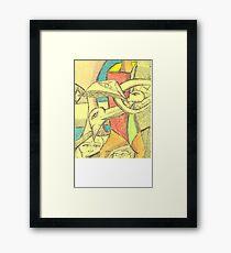 oreo gumby Framed Print