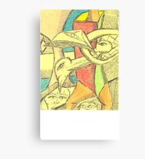 oreo gumby Canvas Print