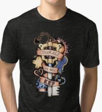 Courage Is The Key Tri-blend T-Shirt