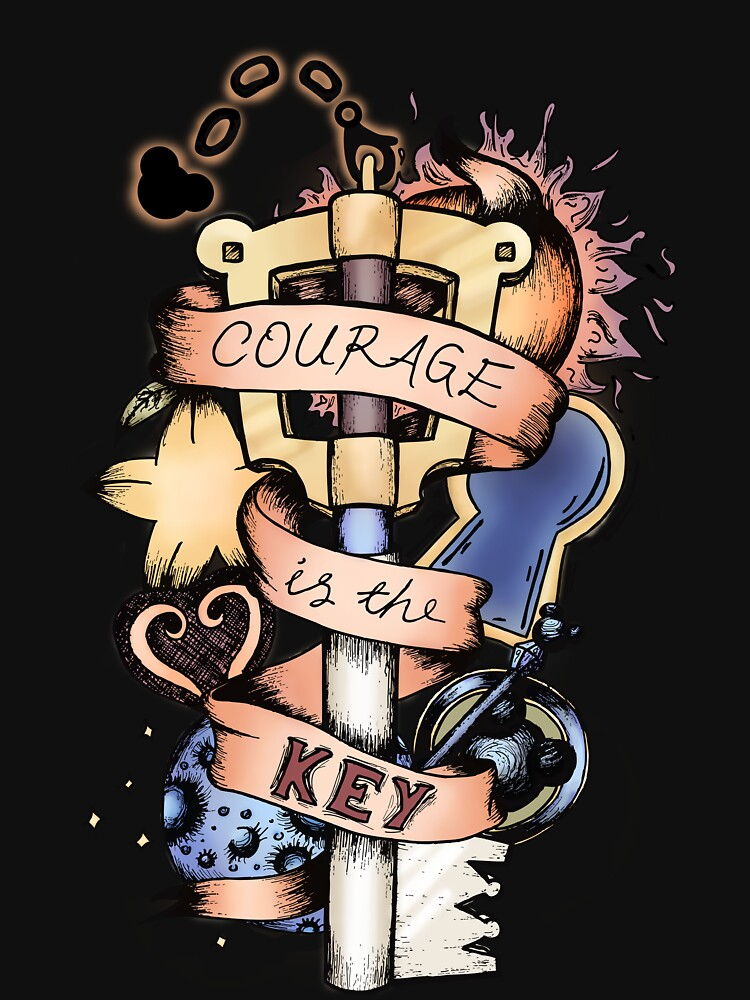 Courage Is The Key | Unisex T-Shirt