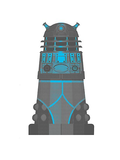 Dalek in Underpants version 2 by MARTIN LITHGOW