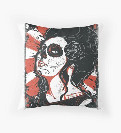 TASTY™ SUGAR SKULL Throw Pillow