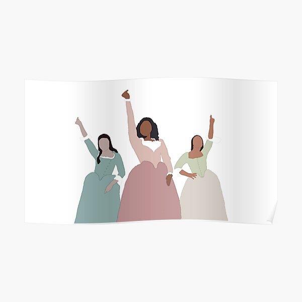 Schuyler Sisters - Hamilton Poster