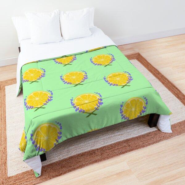 Lavender Lemonade Logo Comforter