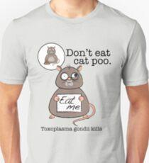 Don't eat cat poo T-Shirt
