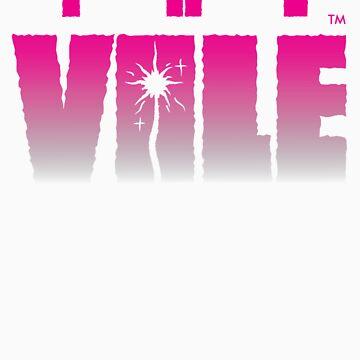 The Vale - pink girls tee by Kuzimu