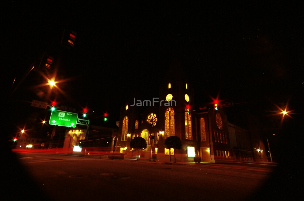 Night Church by JamFran