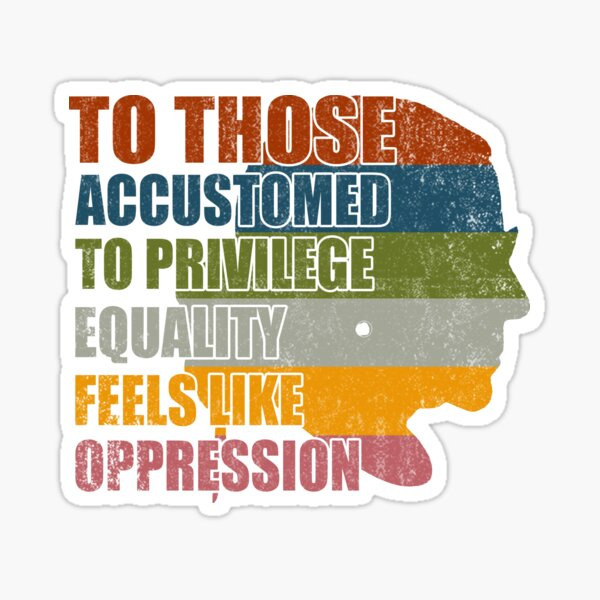 Privilege Ruth Bader Ginsburg RBG Equality Womens  Sticker