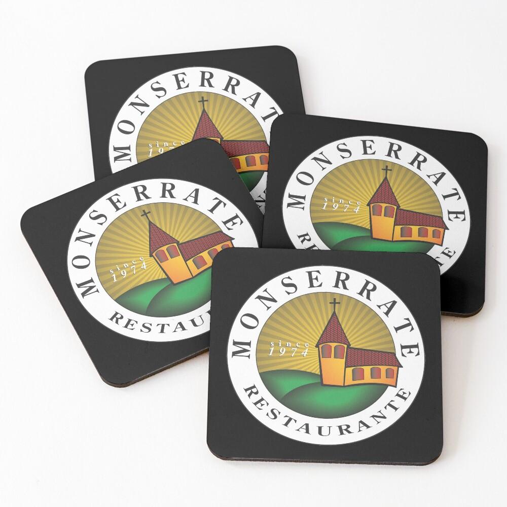 Monserrate Restaurante Coasters (Set of 4)