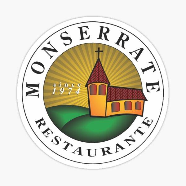 Monserrate Restaurante Sticker