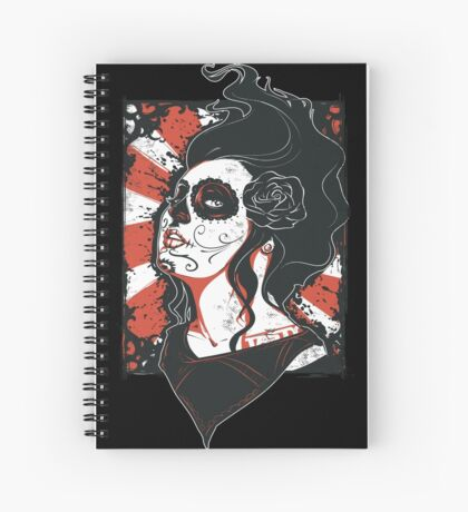 TASTY™ SUGAR SKULL Spiral Notebook