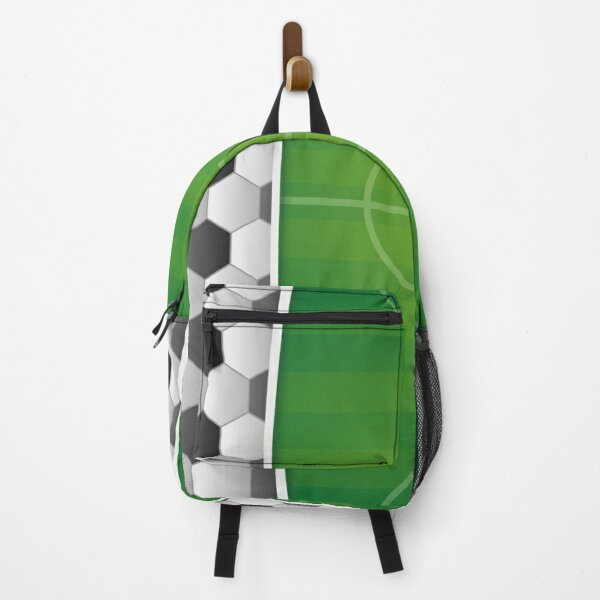 Soccer Stadium Football Game Field On Shirts And Gadgets Backpack