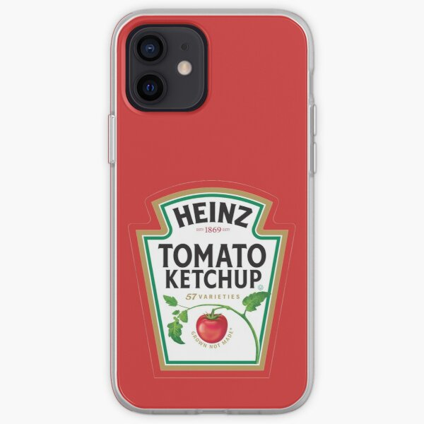 Tomato Ketchup he inz iPhone Soft Case