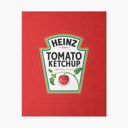 Tomato Ketchup he inz Art Board Print