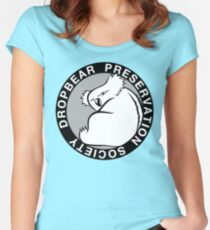 Dropbear Preservation Society Women's Fitted Scoop T-Shirt