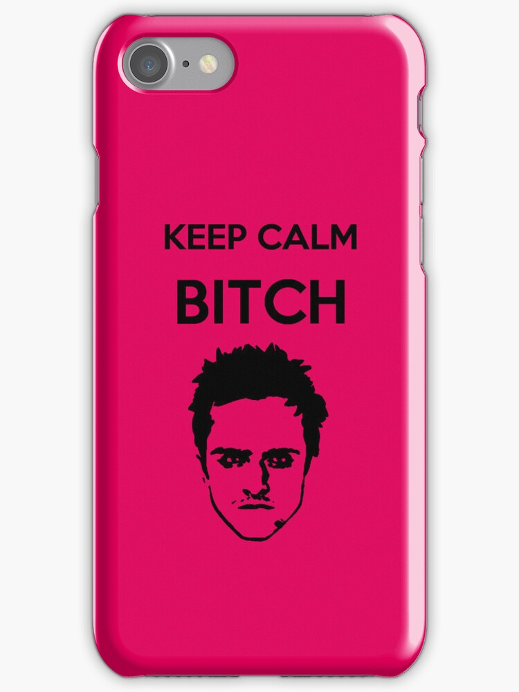 BREAKING BAD IPHONE CASE PINK by Marrymytelly