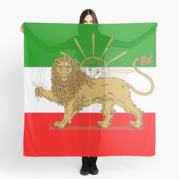 Iran National Flag Scarves Redbubble