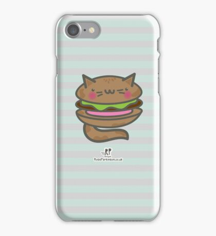 Catburger 2 iPhone Case/Skin