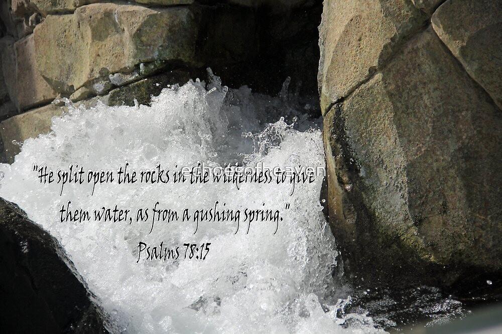 """""""Psalm 78:15"""" by Carter L. Shepard by echoesofheaven"""