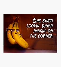 Shady looking bunch Photographic Print