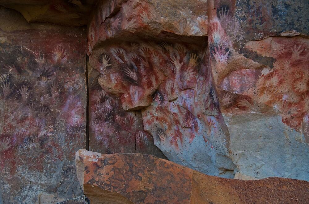cueva de las manos (cave of hands) by Matt Bishop