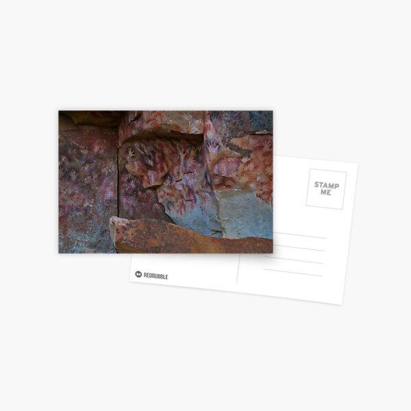 cueva de las manos (cave of hands) Postcard