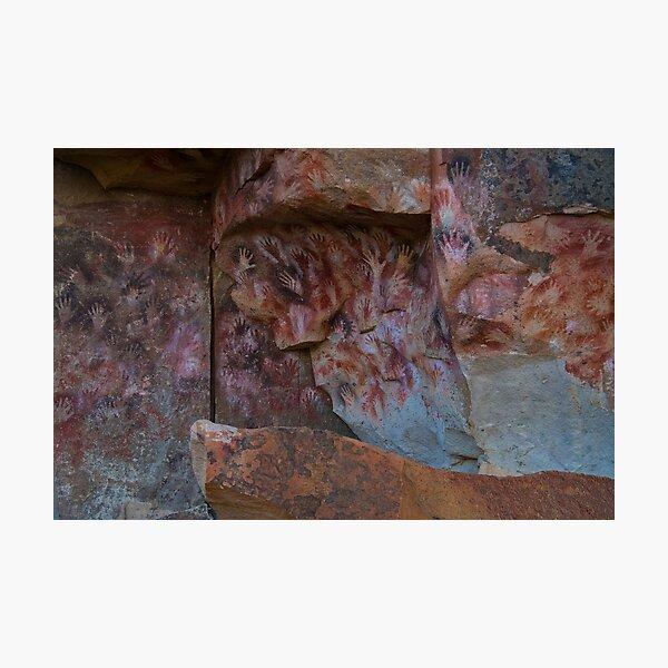 cueva de las manos (cave of hands) Photographic Print