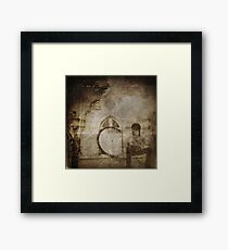 Time out the window Framed Print