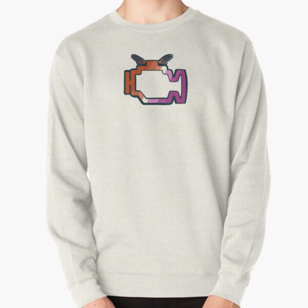 Transmission Folklore Lesbian Pride Logo Pullover Sweatshirt