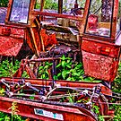 Abandoned tractor by pixsellpix