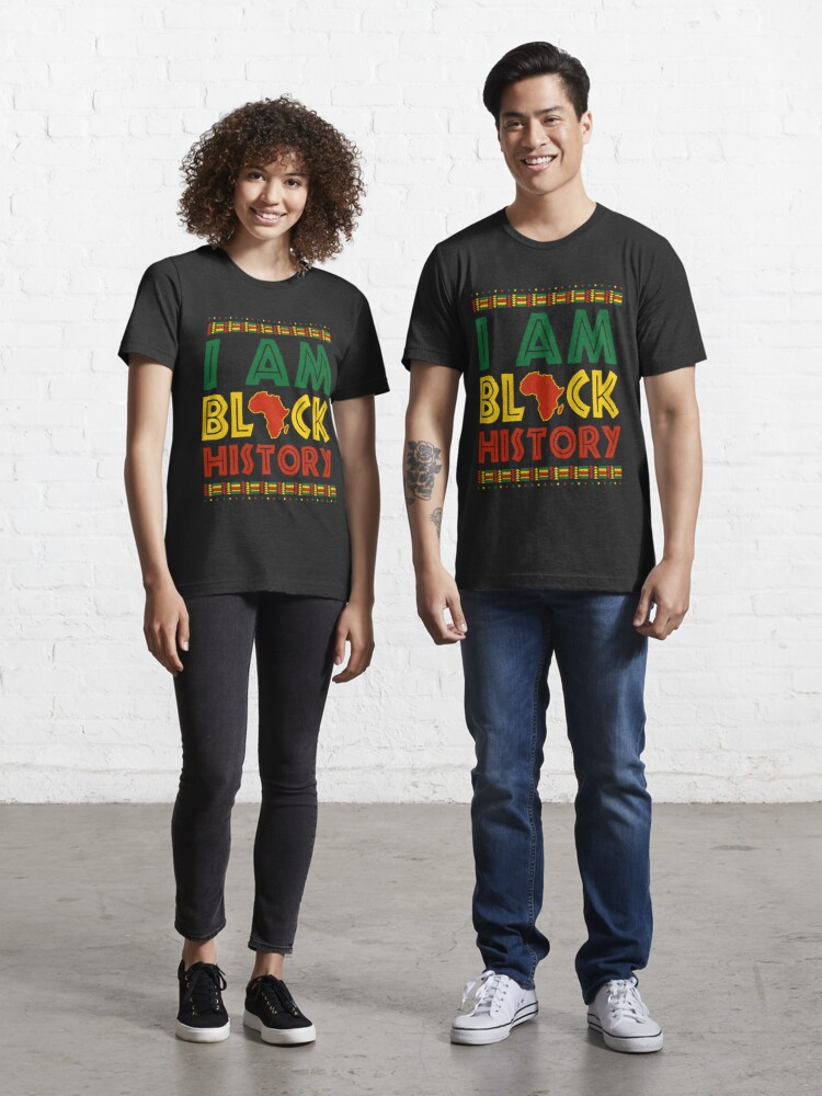 Black History Month tShirt I/'m a Queen African American Gift Unisex T-Shirt