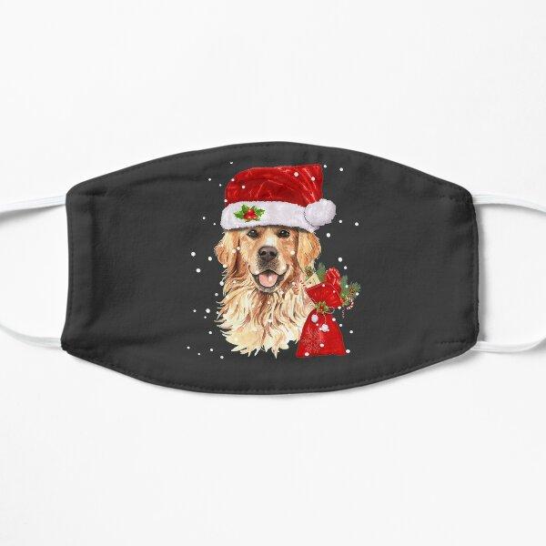 Golden Retriever Dog Christmas Holiday Gift  Mask