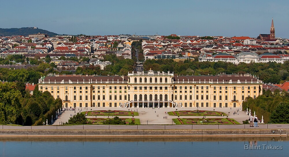 Schönbrunn, Vienna, Austria by Balint Takacs